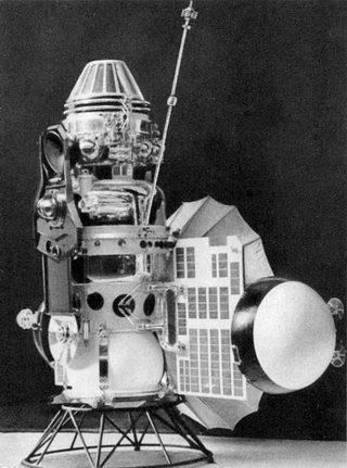 A sonda Vênera 3 conseguiu pousar em Vênus, mas o calor e a pressão venusianos a destruíram...