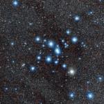 ESO investiga o aglomerado estelar aberto próximo Messier 7