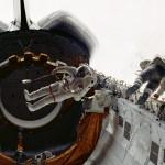07 de abril de 1983 – o primeiro passeio no espaço a partir de um ônibus espacial [Challenger]