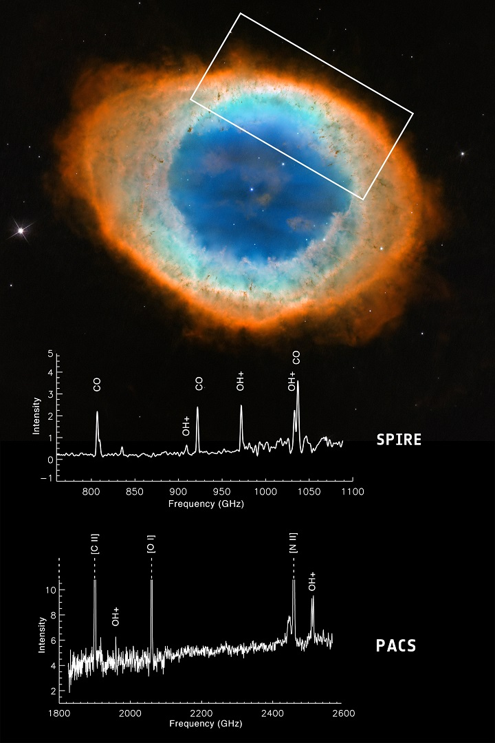 http://www.esa.int/spaceinimages/Images/2014/06/Water-building_molecule_in_Ring_Nebula