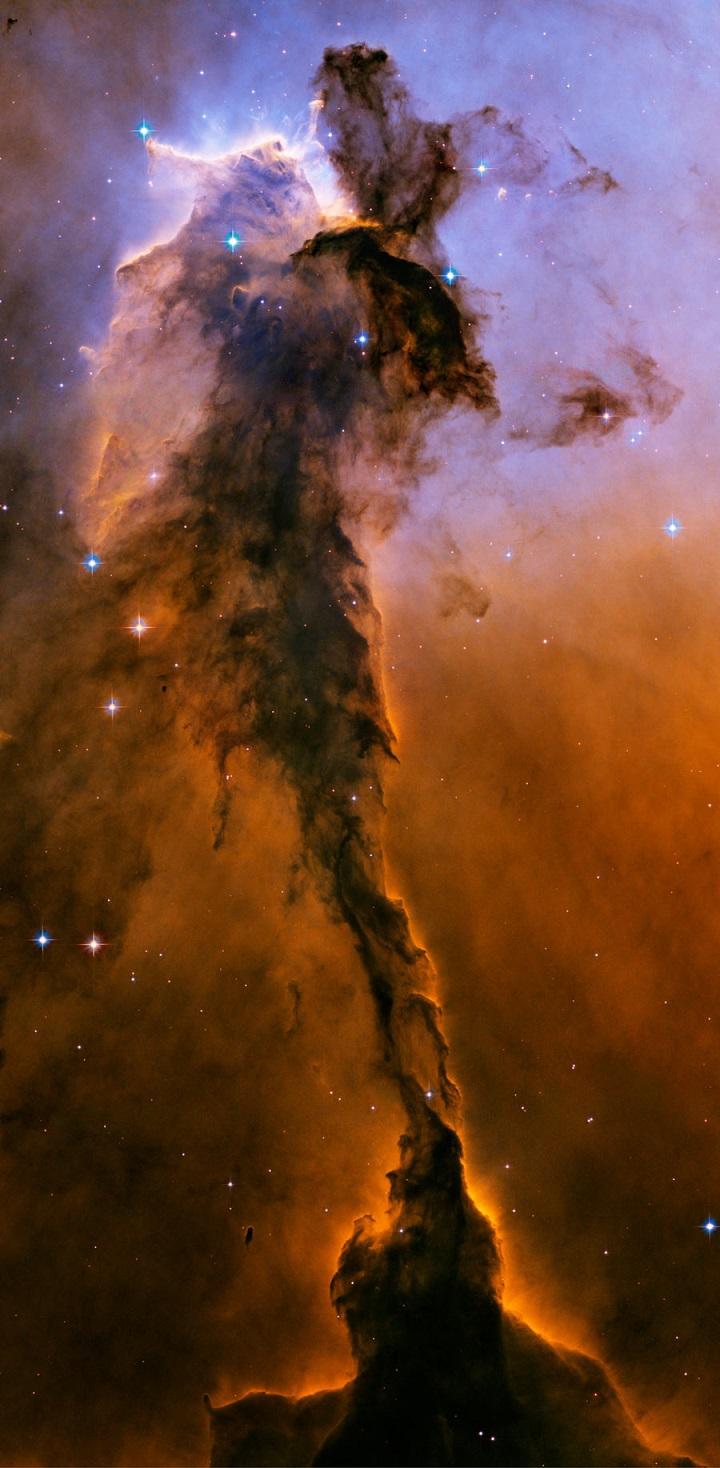 A Fada da Nebulosa da Águia pelo Hubble