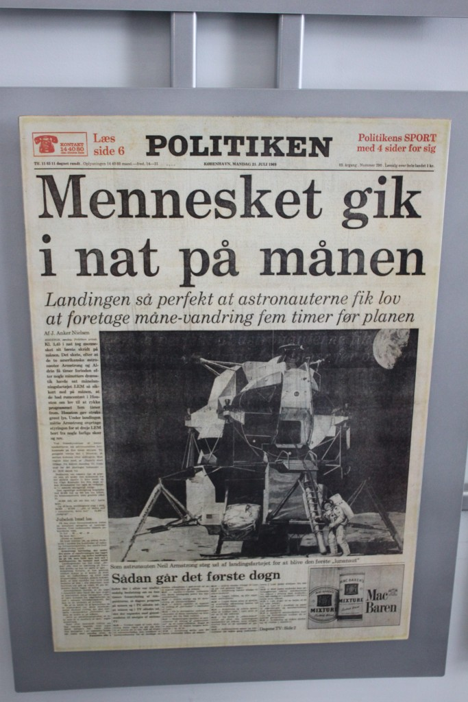 Capa do jornal Politiken