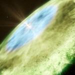 """Astrônomos do ESO usam o ALMA para mapear a """"linha de neve"""" em TW Hydrae"""