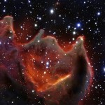 A boca do monstro – VLT revela detalhes do glóbulo cometário CG4
