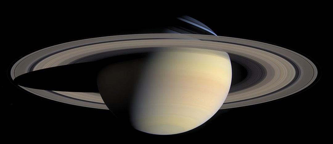 http://en.wikipedia.org/wiki/File:Saturn_from_Cassini_Orbiter_(2004-10-06).jpg
