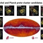 Astrônomos usam dados dos observatórios Planck e Herschel para elucidar a origem dos aglomerados galácticos
