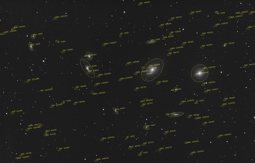 http://en.wikipedia.org/wiki/Virgo_Cluster