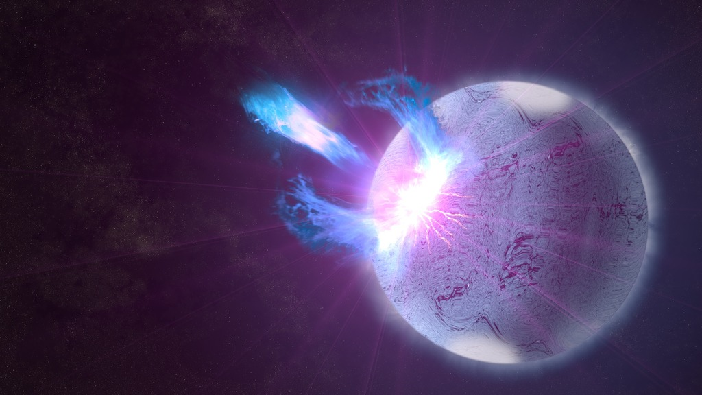 Sismo em Magnetar