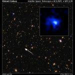 EGS-zs8-1: dados combinados do Hubble, Keck e do Spitzer encontram a galáxia mais distante já observada