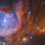Yuri Beletsky dá um close na bela região de formação estelar Messier 43