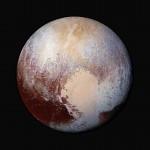 Plutão emcores pela New Horizons