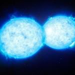VFTS 352: ESO revela o mais quente e mais massivo sistema binário de estrelas em contato