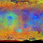 Novos mapas de Ceres liberados pela DAWN