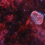 Cygnus: a Nebulosa Crescente e a Nebulosa Bolha de Sabão capturadas por Ivan Eder