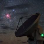 Nascimento de estrelas sobre o ALMA por Babak Tafreshi