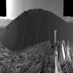 Inédito: Curiosity estuda duna escura em Marte