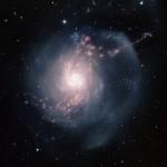 NGC 3310: uma galáxia espiral com surto de formação estelar revelada pelo Gemini