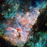 As nuvens cósmicas da Nebulosa Carina por John Ebersole