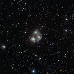 ESO: Um atropelamento cósmico