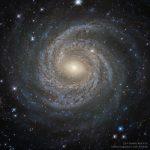 NGC 6814: a magnífica galáxia espiral Seyfert pelo Hubble