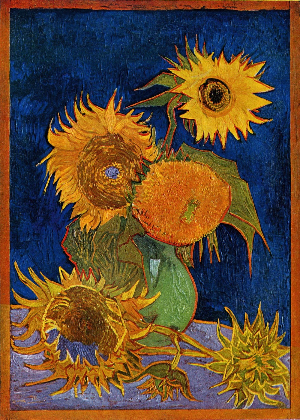 https://en.wikipedia.org/wiki/Sunflowers_(Van_Gogh_series)
