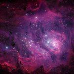 M8: a larga e profunda 'lagoa cósmica' por Michael Miller e Jimmy Walker