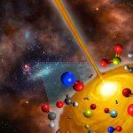ALMA descobre casulo estelar com química exótica