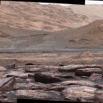 Curiosity investiga o Monte Sharp em Marte