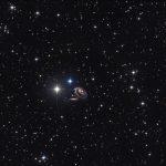 Arp 273: uma dupla peculiar de galáxias por Wolfgang Ries e Stefan Heutz