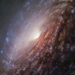 No centro da Galáxia Espiral NGC 5033