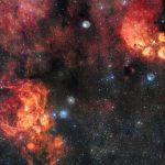 ESO/VLT: Gato Celeste encontra Lagosta Cósmica