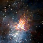 """O complexo de radiotelescópios ALMA observa """"fogos de artifícios estelares"""""""