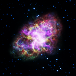 M1: um incrível retrato composto da Nebulosa do Caranguejo pelo Spitzer, XMM-Newton, VLA e Chandra