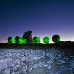 """ESO/ALMA: """"Verde e Azul"""""""