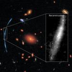 SGAS J111020.0+645950.8: Hubble é usado além dos seus limites para vislumbrar aglomerados estelares em galáxia distante
