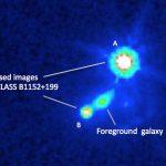 CLASS B1152+199: VLA revela campo magnético de galáxia distante através de lente gravitacional