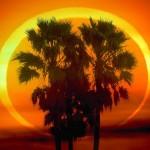 26 de janeiro: surgiu um anel de fogo nos céus, o eclipse anular do Sol