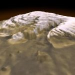 MRO indica a presença de água pura nas calotas polares de Marte