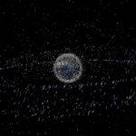 O problema do lixo espacial explicado em imagens