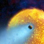 WASP 18b: o raro planeta suicida que espirala em queda para dentro de sua estrela mãe