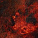 A nebulosa de Gum sob a lente de Axel Mellinder