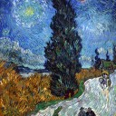 http://upload.wikimedia.org/wikipedia/commons/1/10/Van_Gogh_-_Country_road_in_Provence_by_night.jpg
