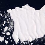A Terra vista do espaço: a 'língua de gelo' da geleira Mertz na Antártida libera um enorme iceberg