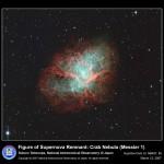 12 de março de 2007 – Modéstia japonesa: Subaru e a nebulosa do Caranguejo
