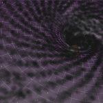 Como interagem os buracos negros supermassivos e a matéria escura que os cerca?