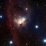 ESO revela o Morcego Cósmico na Constelação de Órion
