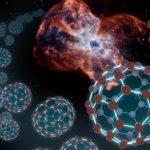 Sptizer revela complexas moléculas de Fulereno (composto cristalino de carbono) no espaço