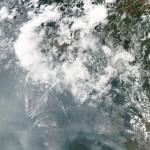 A Terra vista do espaço: satélite Aqua mostra o Brasil em chamas