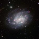 NGC300: a galáxia espiral padrão revelada pelo observatório de La Silla do ESO