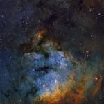 O berçário estelar NGC 7822 na constelação de Cepheus revelado por Neil Fleming